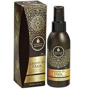NWT/BNIB Moroccan Gold Leave-In Hair Mask